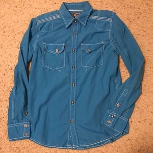 Men's Sz Small BKE Long Sleeve Button Up